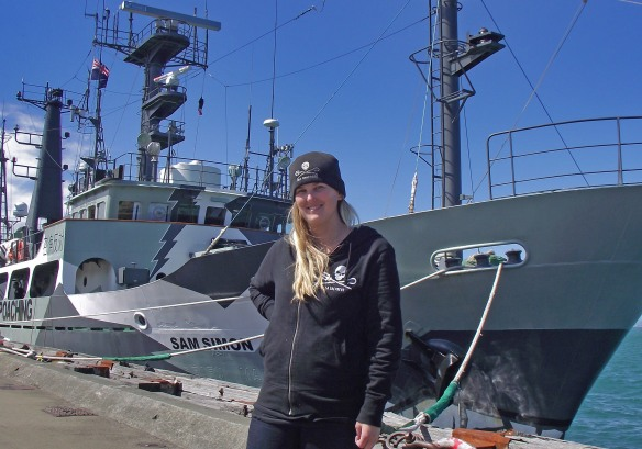 Mandy Coleman Sea Shepherd