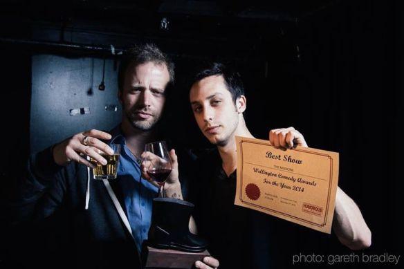 Nik and Rob- medicine men